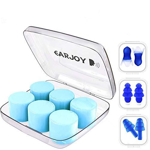 Earplugs Sleep Reusable Silicone by EarJoy,Sleep earplugs,...