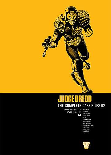 JUDGE DREDD COMP CASE FILE 2: Complete Case Files