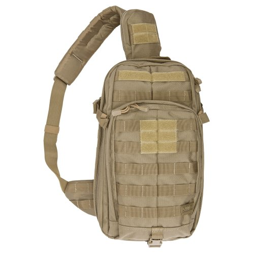 5.11 Rush Moab 10 Tactical Sling Pack Backpack, Style 56964, Sandstone