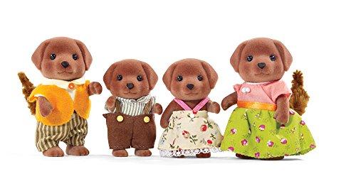 Calico Critters Schokolade Labrador Familie Puppe
