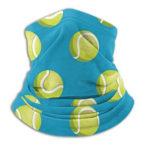 Lzz-Shop Ballen Tennis Neck Warmer - hoofdbanden sjaal hoofdwikkeling, hals gamasche buizen vissen, gezicht sport sjaal
