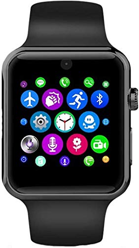 JSL Relojes inteligentes, hombres y mujeres, relojes de pareja, con la función de monitoreo de la frecuencia cardíaca y la presión arterial, una variedad de colores están disponibles-Negro