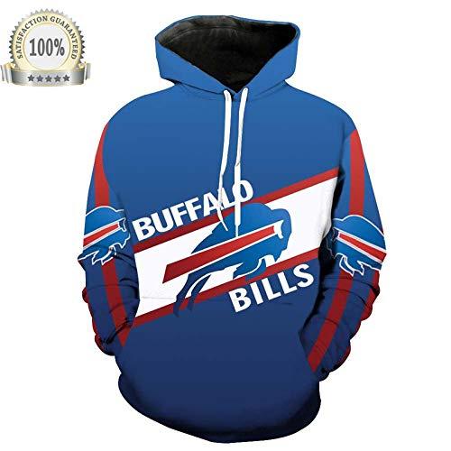 2020 Nouveau Chandail Imprimé 3D De Football Buffalo Bills NFL De Buffalo Bills,Sweatshirt/A/M