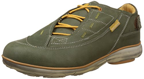 Redchief Men's Olive and Green Leather Trekking and Hiking Footwear Shoes - 6 UK/India (39 EU) (RC2891)