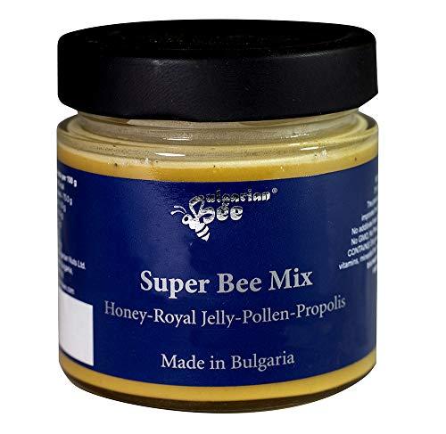 500 g Mezcla de Miel de Bosque con Propóleo, Jalea Real, Polen, Rico en vitaminas y minerales