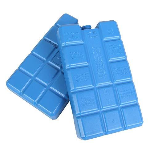 Kühlakkus 2x 400ml für Kühltasche oder Kühlbox Kühlelemente Ice Blocks Icepack