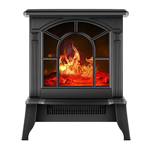 Hongyan Chimenea LED Estufa De Fuego Portátil Calentador Dormitorio Baño Habitación Chimeneas...