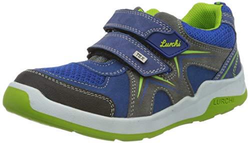 Lurchi Matthias-TEX, Basket Garçon Fille, Bleu Cobalt 29, 28 EU