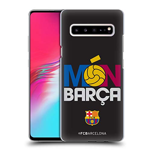 Official FC Barcelona Mon Barca Campions Hard Back Case Compatible for Samsung Galaxy S10 5G