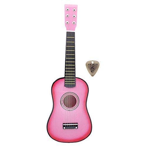 F Fityle Guitarra Clásica Popular Acústica de 23 Pulgadas para Principiantes, Estudiantes Adultos, Jugador de 6 Cuerdas