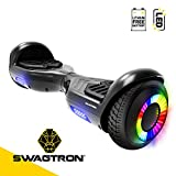 Swagboard Twist Remix Lithium-Free Kids Hoverboard with LED...