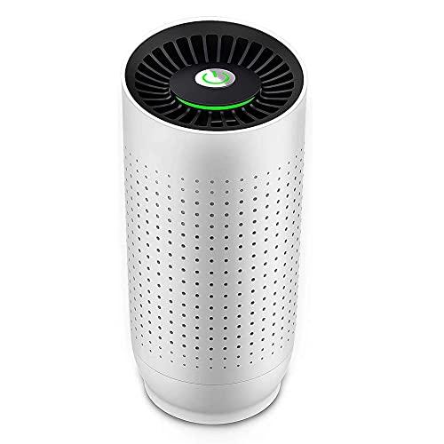 XIAOYAN Climatización Purificador de Aire para el hogar con Filtro HEPA, Limpiador de Aire, purificadores portátiles para Polvo, Fumadores, Polen, caspa de Mascotas, Fiebre de heno, Olor a Cocina