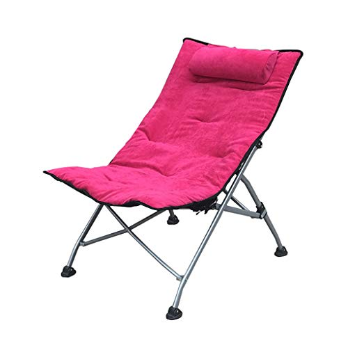 Bureau Lounge Chair-Chaise Pliante Creative Lunch Break Chair Balcon Chaise Longue Salon Extérieur Beach Lounge Chaise Confortable (Couleur : G)