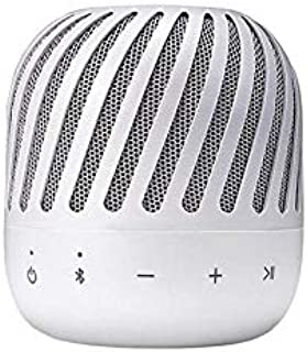 LG XBOOM Go PJ2 Portable Wireless (Bluetooth) Speaker- with Multi-point Connectivity & Built In Microphone - White