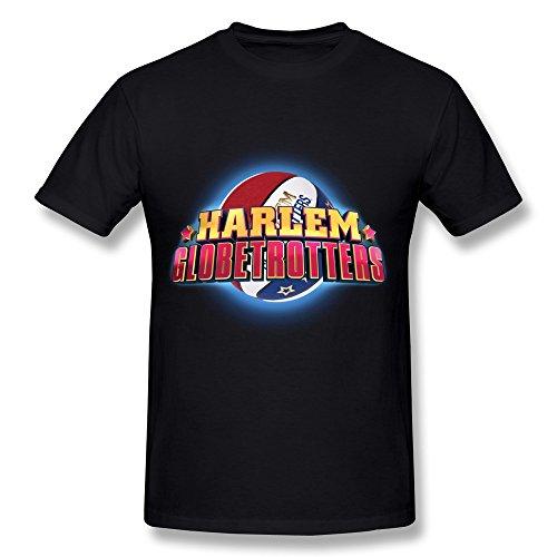 Elma Ellen Harlem Globetrotters World Tour 2016 T Shirt For Men White Large
