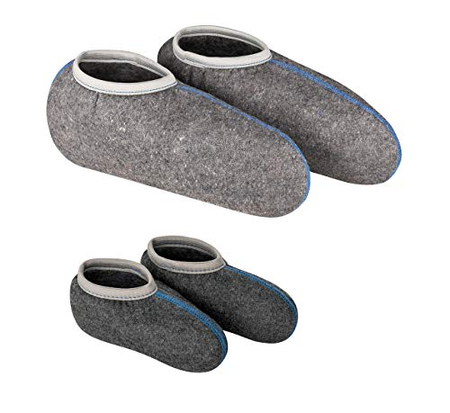 DESERMO 2er Set Stiefelsocken für Gummistiefel | Hochwertige Socken mit Nässeschutz | Weiche Socken für Damen, Herren & Kinder