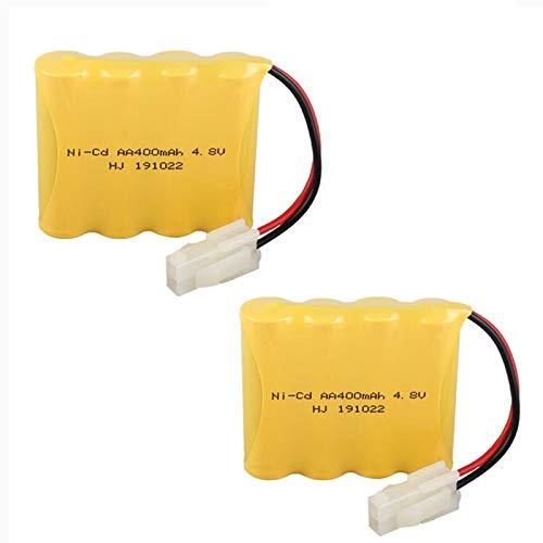 4.8V 400mAh Battery Pack Ni-Cd AA Battery for Huanqi HQ 508 550 611 605 RC Car RC Vehicle 2 Pack
