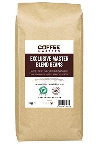 Koffie Meesters Exclusieve Meester Melange van 100% Arabica Espresso Koffie Bonen 1kg