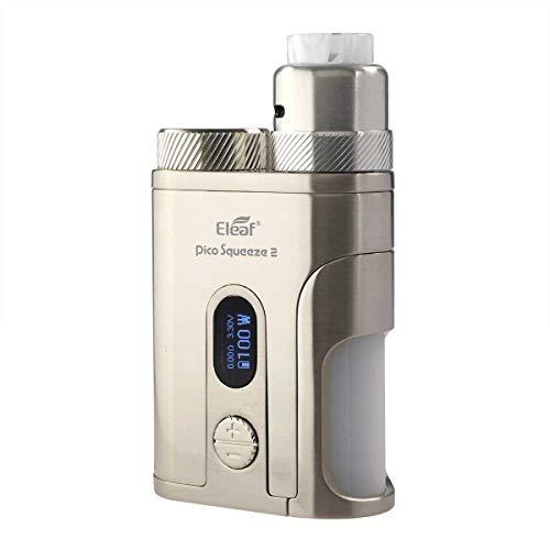 Eleaf Pico Squeeze 2 Kit 100 W, mit Coral 2 Clearomizer, 8 ml, Riccardo e-Zigarette, silber