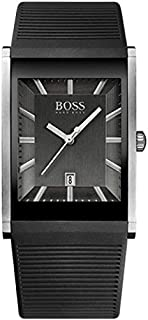 Hugo Boss Casual Watch for Men, Silicone Band, 1512980
