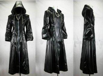 『キングダムハーツ2 13機関コート コスプレ衣装 (M)』のトップ画像