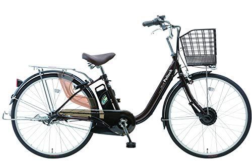 【完成車納品】 PELTECH(ペルテック) 電動アシスト自転車 26インチ内装3段 TDF-14Z (ブラウン)