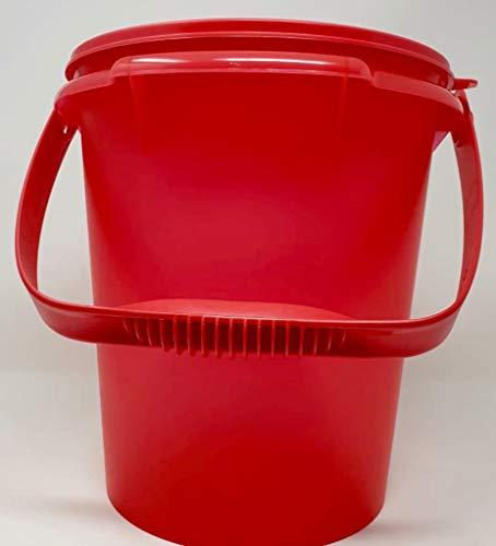 TUPPERWARE Party-Riese Eimer Hummer Lachs 8,5 Liter XXL mit Henkel Vorratsbehälter Behälter Wasserkanister Milchkanne