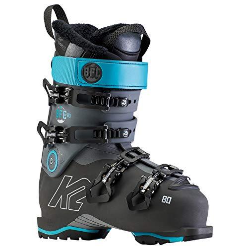 K2 Skis Damen Skischuhe BFC W 80-Anthracite-Blau-EU: 40.5 (US: 8.5-UK: 7-Mondo: 255) -10D2600.1.1.255