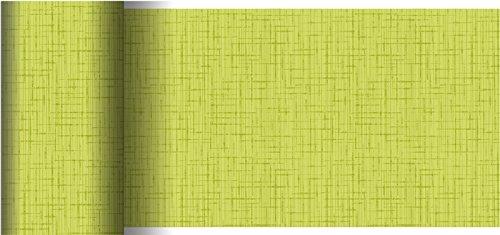 Duni Dunicel Tischläufer Linnea Kiwi 0,15 x 20 m