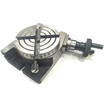 """MILLING MACHINE NEW MINI ROTARY TABLE 2.3//4/"""" 70MM SMALL TABLE"""