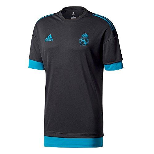 adidas Herren Real Madrid Trainingstrikot Real Madrid UCL Trainingstrikot, Black/Vivtea, S, BQ7843
