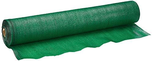 Malla Sombreo 90%, Rollo 2 x 50 metros, Reduce Radiación, Protección Jardín y Terraza, Regula Temperatura, Color Verde...