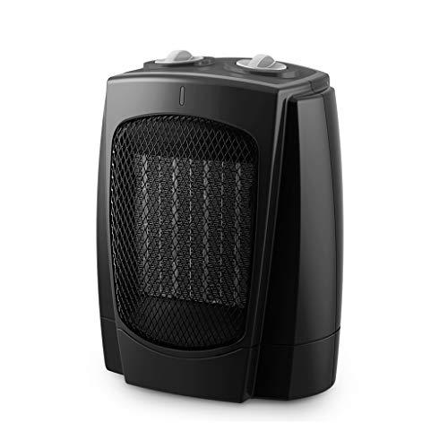 GXDHOME Calefactores Ventilador Mini Calentador eléctrico, radiador portátil de 3 velocidades de PTC de calefacción en casa, portátil, portátil (220V, 1000W / 1800W)