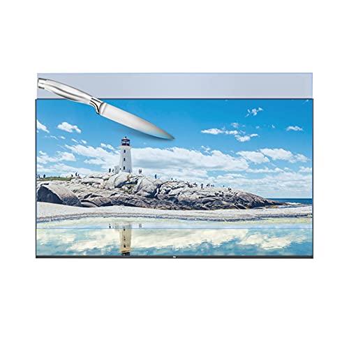 Funda para Televisor Interior Antipolvo Prevenir rayones Protectores de pantalla de TV Película anti-luz azul Sin ojos secos Sencillo y fácil de pegar ( Color : HD Version , Size : 40 inch 875*483mm )