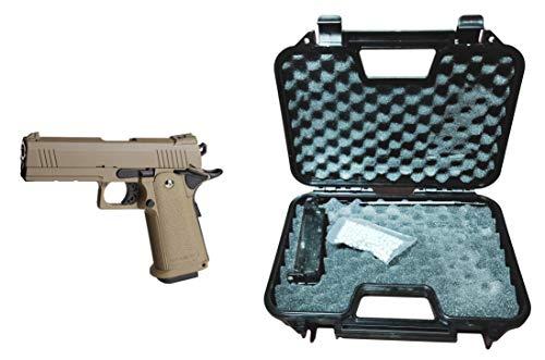 GOLDEN EAGLE Pistola Gas HI-Capa 4.3 con maletín