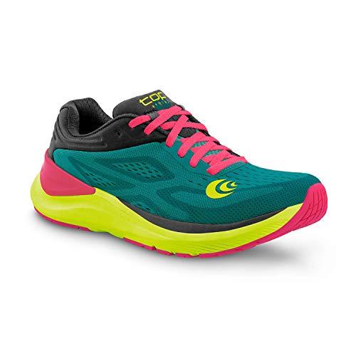 Topo Athletic Women's Ultrafly 3 Breathable Road Running Shoes, Emerald/Fuchsia, Size: 8.5 (W038-085-EMEFUS)