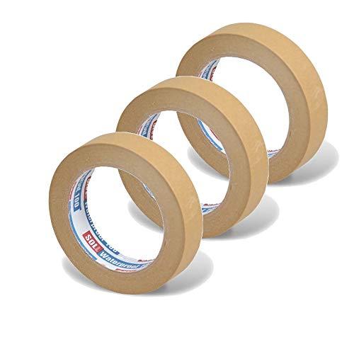 OLL Geel Automotive Refinish Detailing Schilderij Masking Tape Auto Hittebestendige Tape tot 60 oC