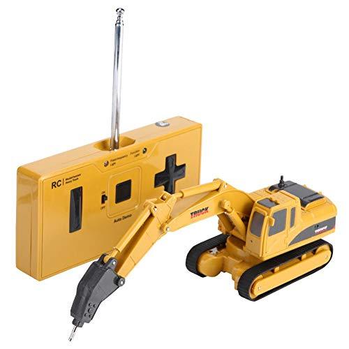 RC Auto kaufen Kettenfahrzeug Bild 5: Fernbedienung Bagger, Fernbedienung Bagger Truck Mini Digger RC Engineering Auto Baufahrzeug Spielzeug Geschenk für Kinder( 2 #)*