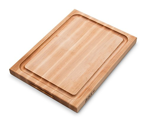 John Boos CB1054-1M2015150 Cutting Board, 20 Inches x 15 Inches x 1.5 Inches, Maple with Juice Groove
