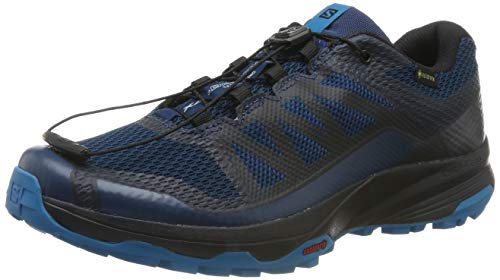 Salomon Herren Trail Running Schuhe, XA DISCOVERY GTX, Farbe: blau (Poseidon/Black/Fjord Blue) Größe: EU 46 2/3