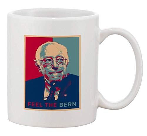Taza de café de cerámica - Elección presidencial del presidente de EE. UU. Votación 2020 Bernie Sanders Candidatos de la Casa Blanca del Partido Demócrata (Bernie A) - Regalos para él, para ella, para