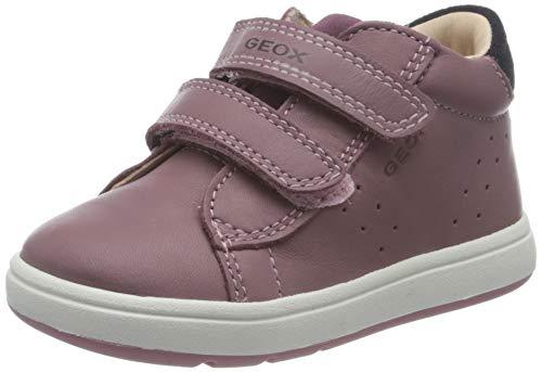 Geox Baby-Mädchen B BIGLIA Girl C First Walker Shoe, Rosa (Rose Smoke/Prune), 25 EU