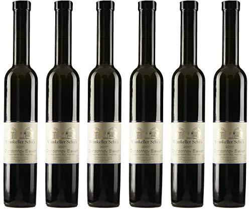 Weinkeller Schick Chardonnay Eiswein Hahnen 2007 Lieblich (6 x 0.375 l)