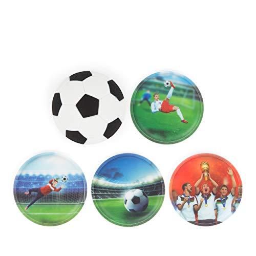 ergobag Klettie-Set - 5-Teilig - Fußball Special Edition