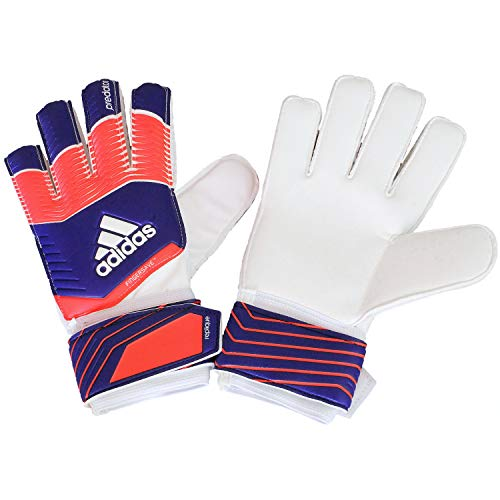 adidas Torwarthandschuhe Predator Fingersave Replique - Guantes de Portero para fútbol, Color Naranja, Talla 11.5