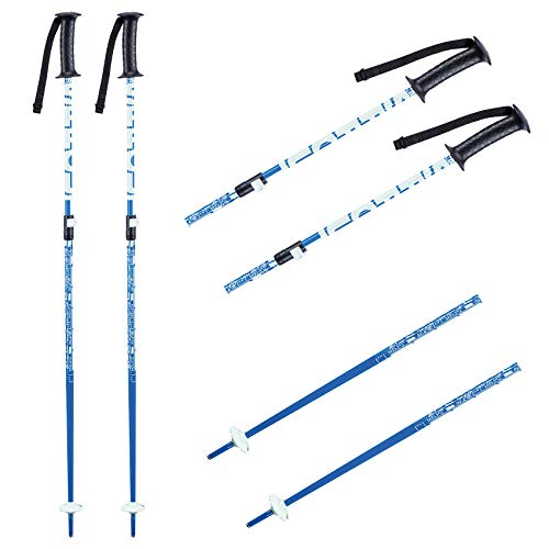 K2 Ski Jungen Skistöcke Boys Sprout — Blue — Länge: 75-105Cm — 10E3020