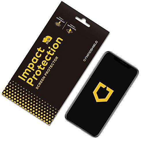 RhinoShield Protection écran compatible avec Samsung [Galaxy S8] | Anti-Chocs Flex - Résistance maximale aux Chocs