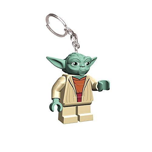 IQ Lego Star Wars Yoda LED Keychain Light - 2.25 Inch Tall Figure