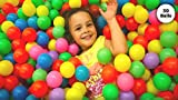 EevOveE 50pcs Color Balls for Kids Pool balls Premium Quality Set of 50