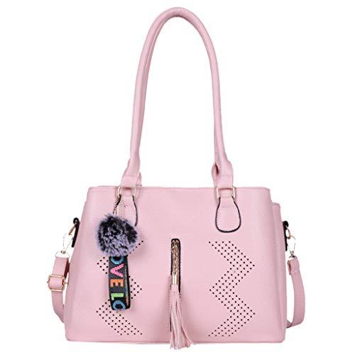 LSAltd Mode Frauen einfarbig quaste umhängetasche umhängetasche Handtasche Reisetasche